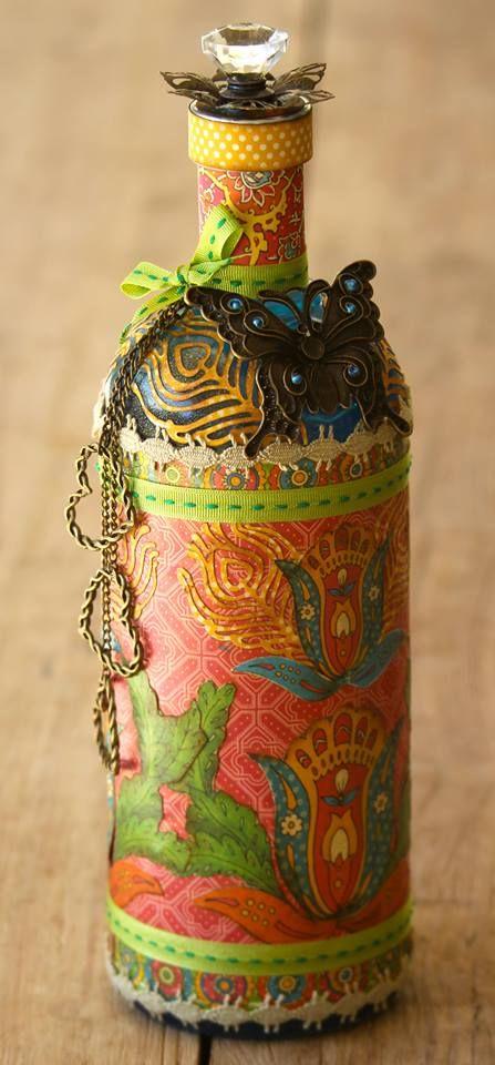 Diy διακόσμηση με μπουκάλια64