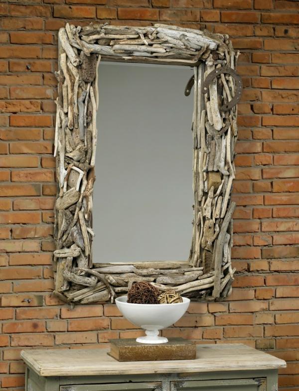 Diy ιδέες καθρέφτη από θαλασσόξυλα (37)