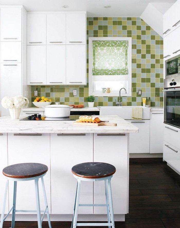 Iδέες σχεδιασμού μικρής κουζίνας48