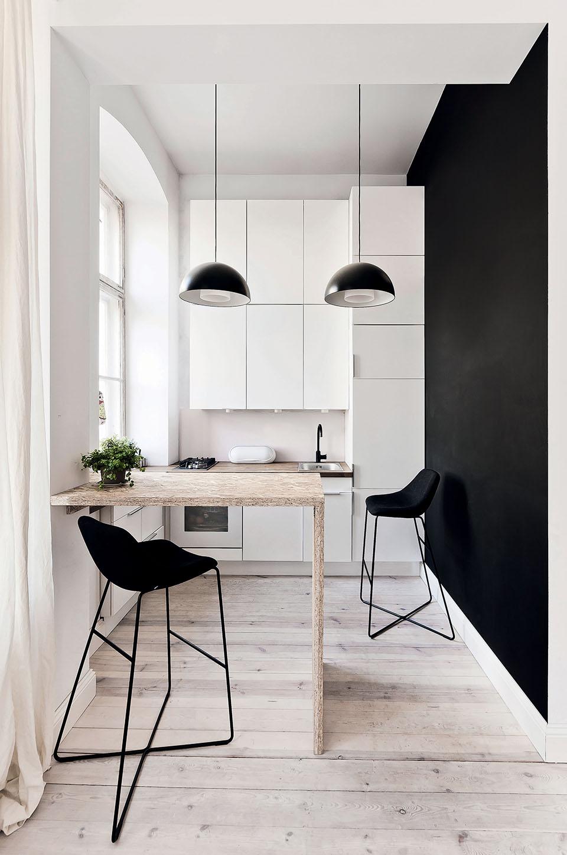 Iδέες σχεδιασμού μικρής κουζίνας51