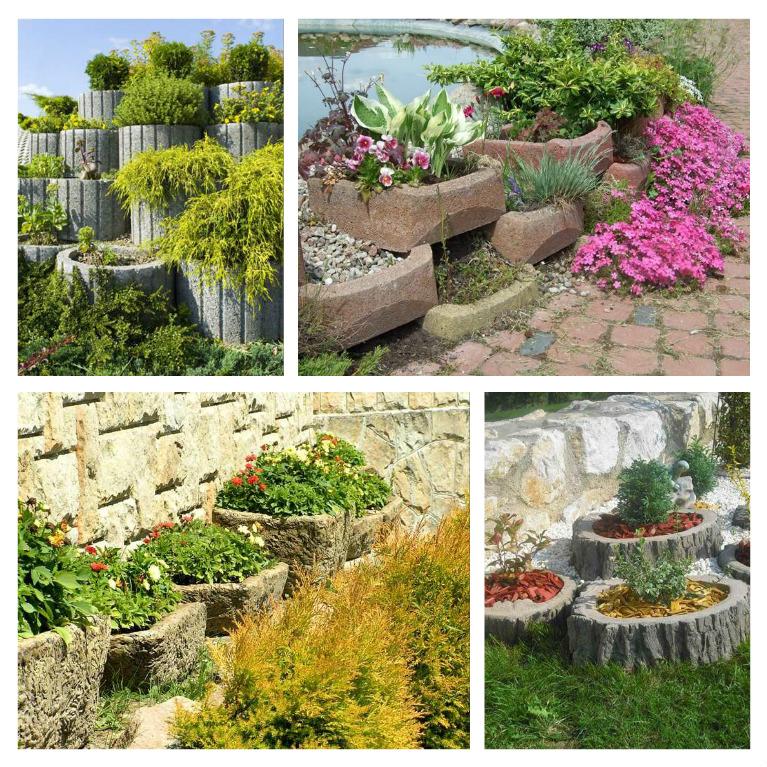 Μπετόν ζαρντινιέρες κήπου για υπέροχα τοπία