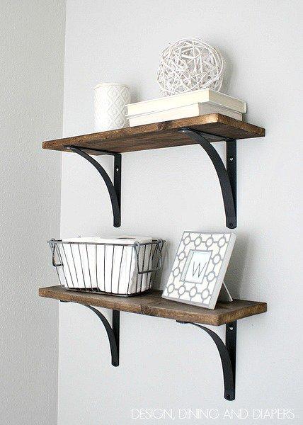 DIY Ρουστίκ έργα από ξύλο2