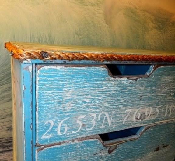 ανακαινήση συρταριέρας σε θαλλασινό στύλ22