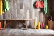 42 ιδέες με laminate στον τοίχο - η άλλη δημιουργική χρήση του δαπέδου