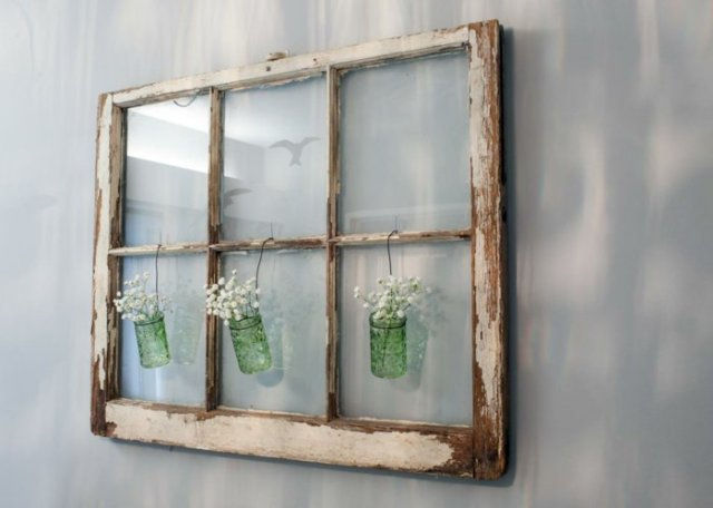 diy ιδέες από παλία παράθυρα17