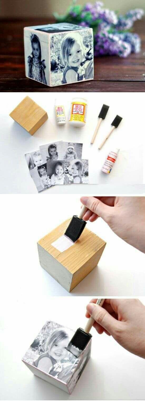 DIY ιδέες για να μεταφέρετε φωτογραφίες σε ξύλο9