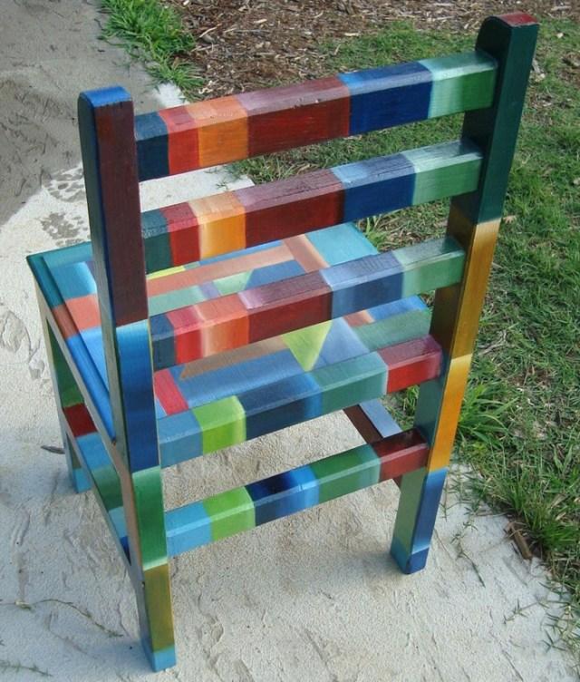 πώς να διακοσμήσετε και να βάψετε παλιές καρέκλες25