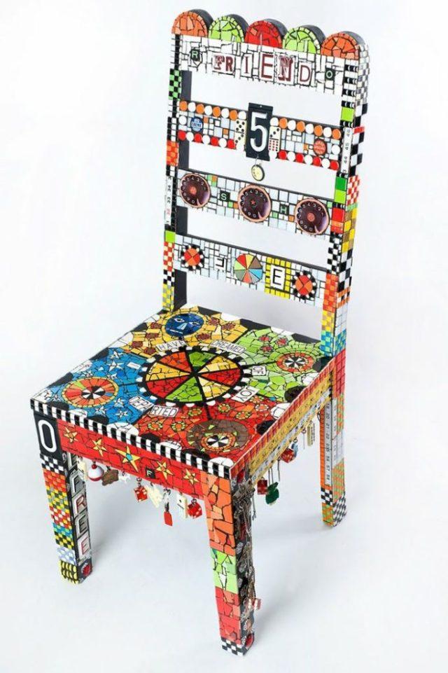 πώς να διακοσμήσετε και να βάψετε παλιές καρέκλες3