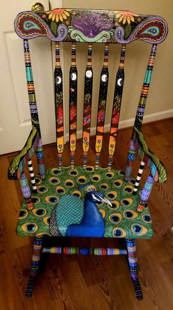 πώς να διακοσμήσετε και να βάψετε παλιές καρέκλες38