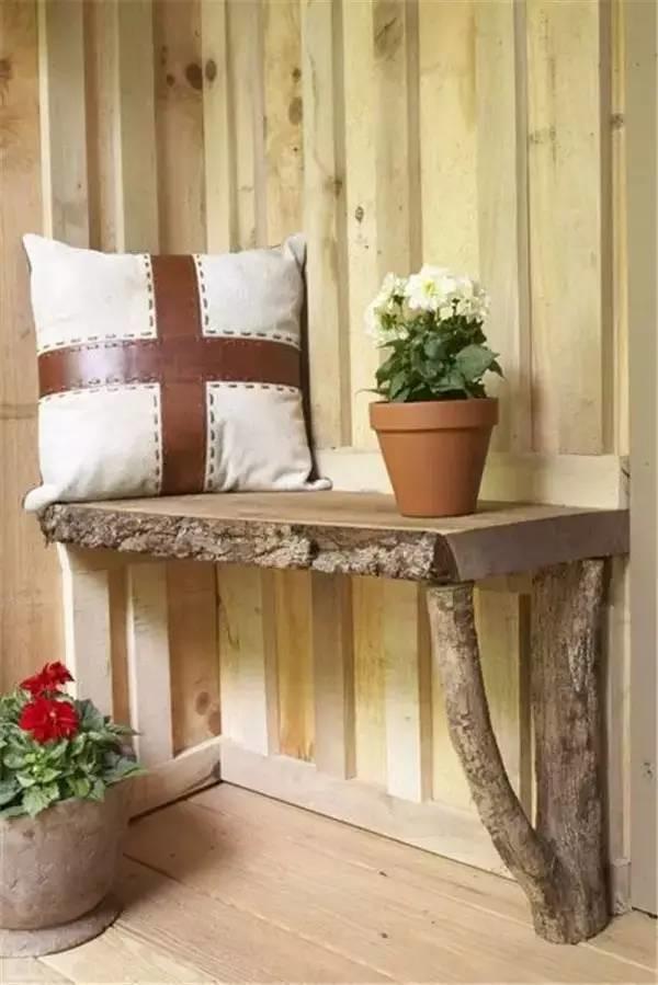 DIY ιδέες διακοσμήσης από κούτσουρα18