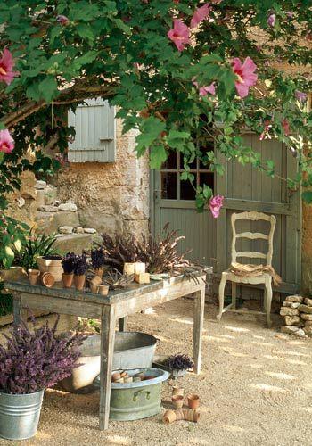 Μεσογειακός κήπος ιδέες68