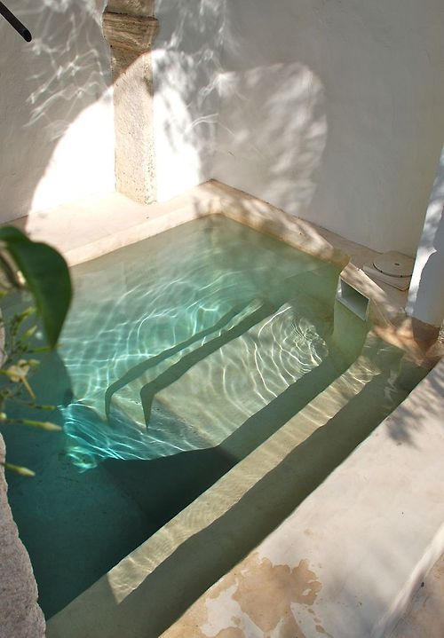 μικρή πισίνα στον κήπο12