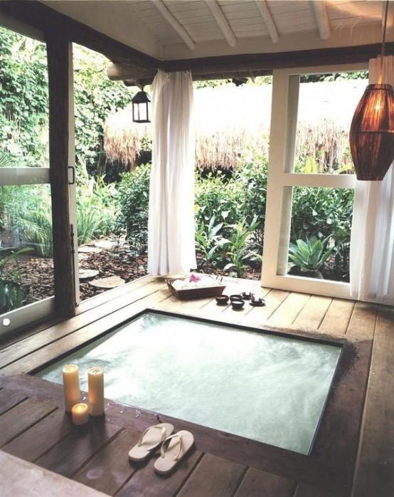 μικρή πισίνα στον κήπο16