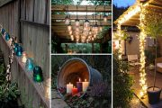 Top DIY Ιδέες προσθήκης φωτισμού αυλής για μαγικές καλοκαιρινές βραδιές