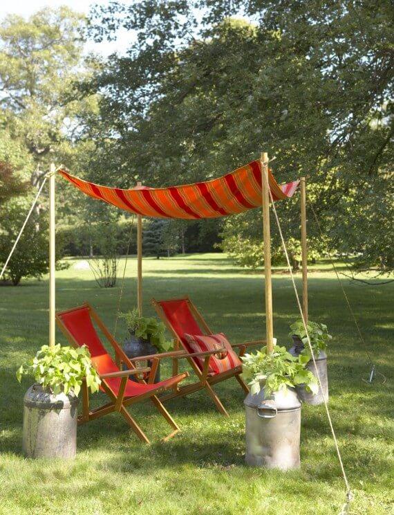 22 Εύκολες DIY ιδέες σκίασης για την αυλή ή το αίθριο