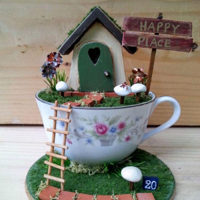 Diy μικροσκοπικοί κήποι9
