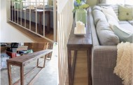 15 DIY δημιουργικές ιδέες για να χρησιμοποιήστε το χώρο πίσω από τον καναπέ
