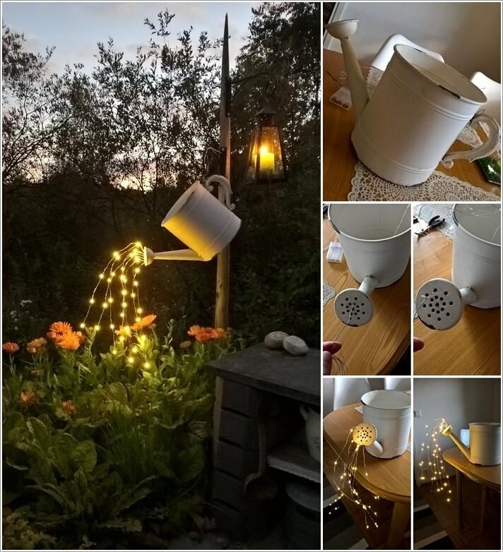 diy φωτιστικά για τον κήπο1