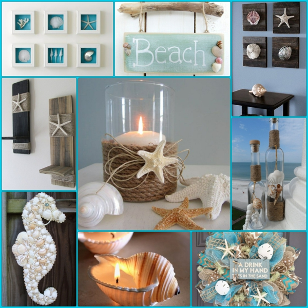 Θαλασσινές ιδέες διακόσμησης - καλέστε τη θάλασσα στο σπίτι σας