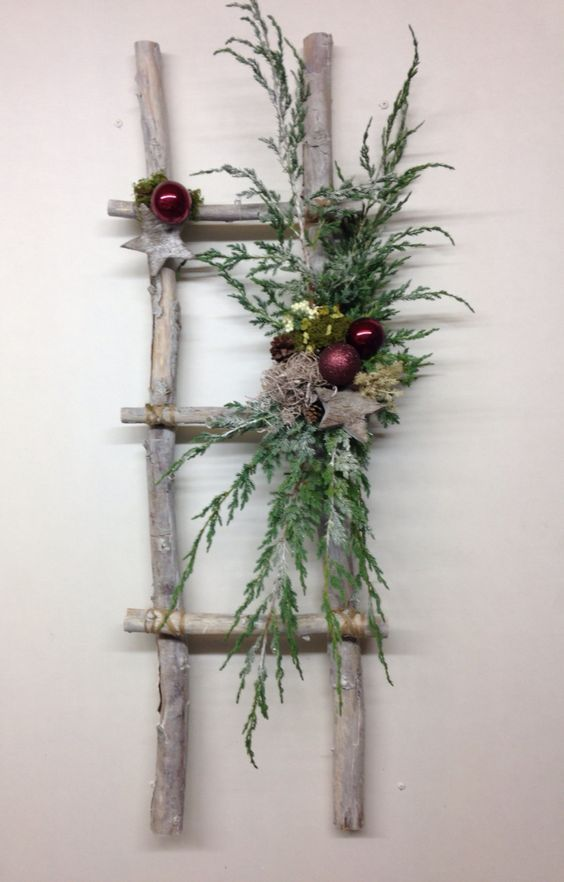 Διακοσμήστε μια σκάλα για τα Χριστούγεννα18