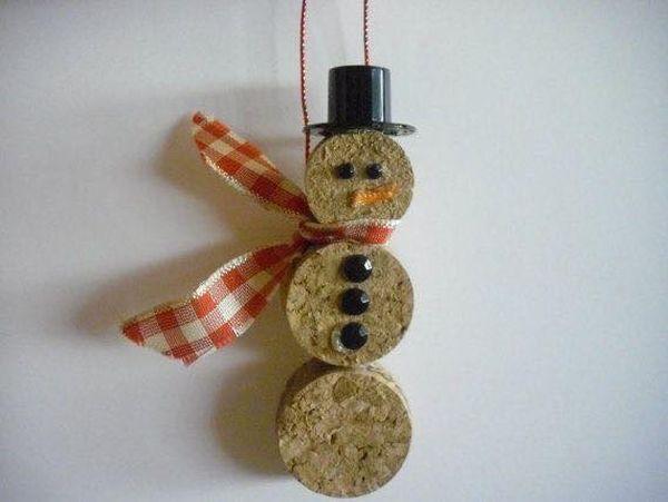 Χριστουγεννιάτικες διακοσμήσεις από πώματα φελλού14