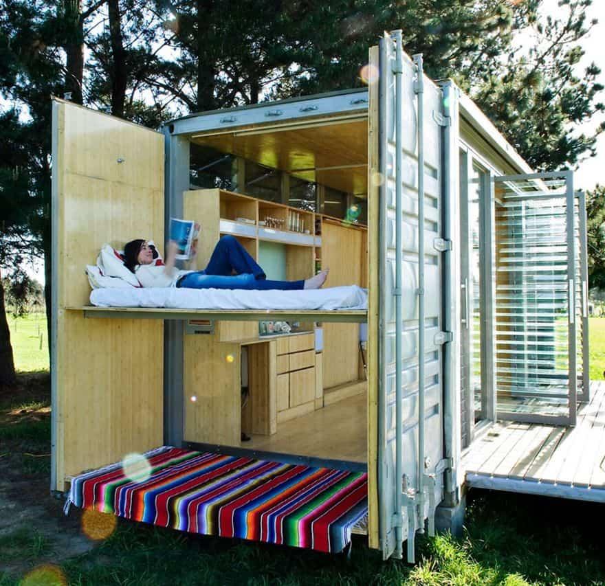 Ονειρικά, οικολογικά και προσιτά σπίτια από κοντέινερ μεταφοράς εμπορευμάτων