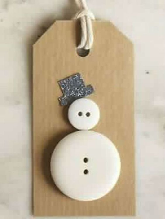 DIY κατασκευές από κουμπιά για τα Χριστούγεννα23