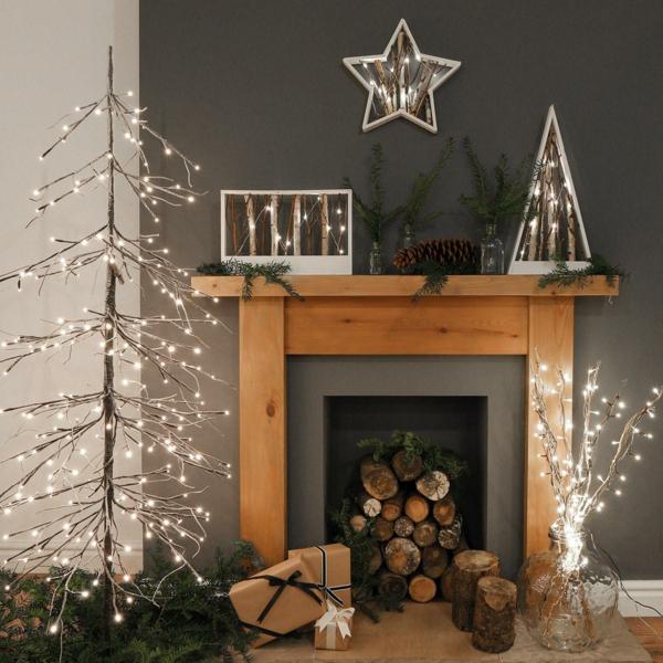 Rustic χωριάτικη Χριστουγεννιάτικη διακόσμηση23