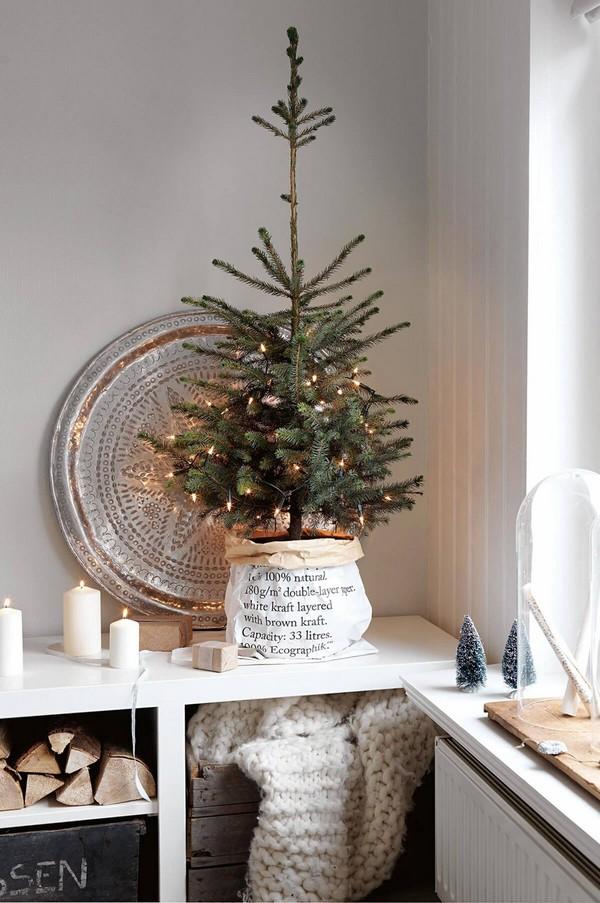 Rustic χωριάτικη Χριστουγεννιάτικη διακόσμηση3