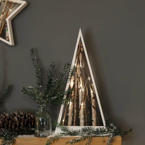 Rustic χωριάτικη Χριστουγεννιάτικη διακόσμηση32