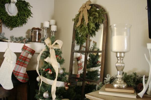 Rustic χωριάτικη Χριστουγεννιάτικη διακόσμηση39