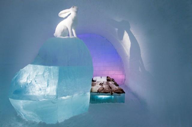 Το ξενοδοχείο του πάγου της Σουηδίας9