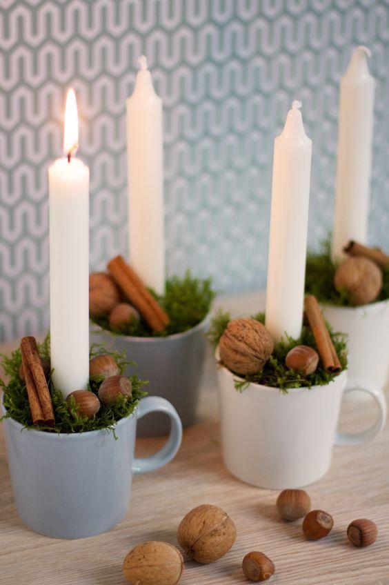 Χριστουγεννιάτικη διακόσμηση με κεριά14