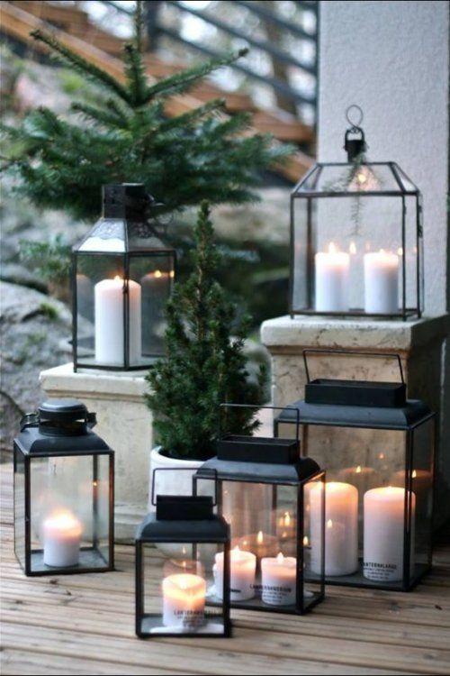 Χριστουγεννιάτικη διακόσμηση με κεριά29