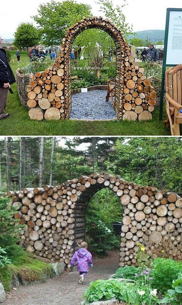 DIY έργα από ξύλο για τον κήπο6
