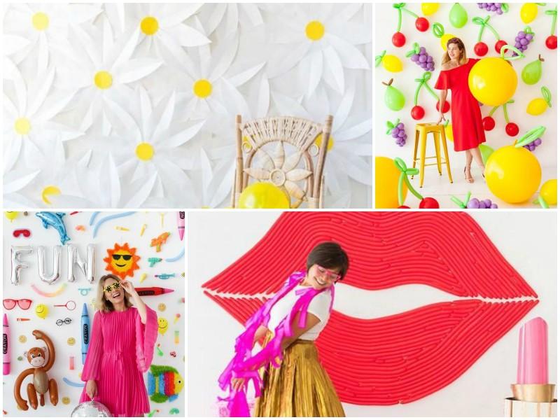Ιδέες διακόσμησης τοίχων για πάρτυ (και όχι μόνο) με ιδιαίτερα φρέσκο άγγιγμα