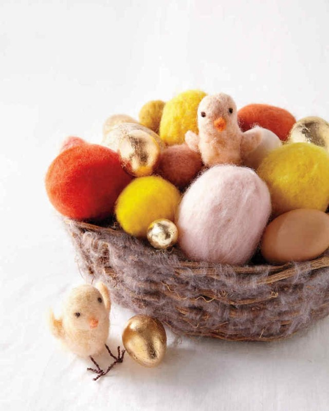 texnotropieskaidiakosmisi - αυγά από φελιζόλ για το Πάσχα11