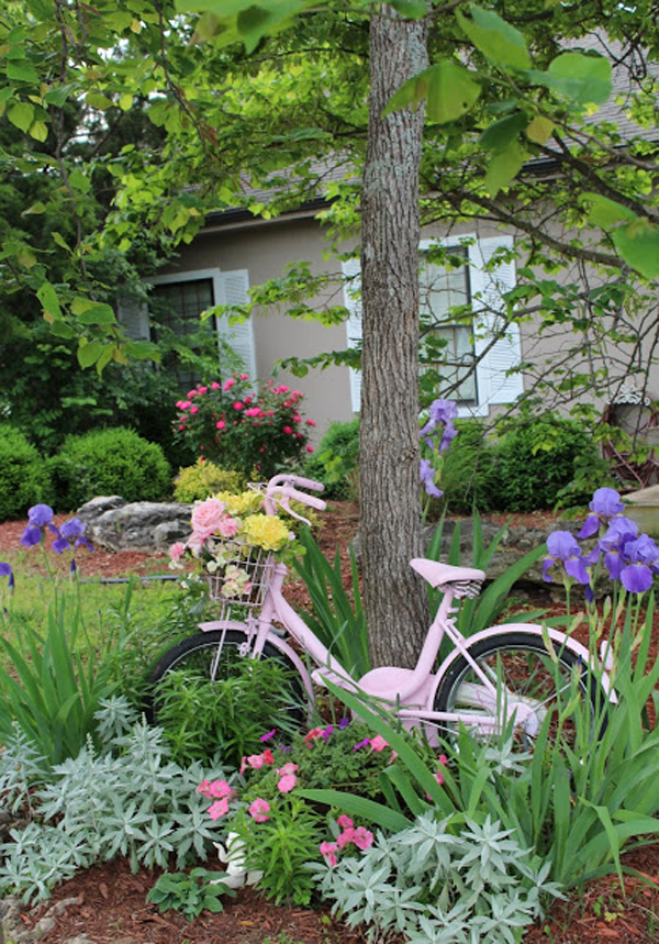 Shabby Chic ιδέες κήπου14