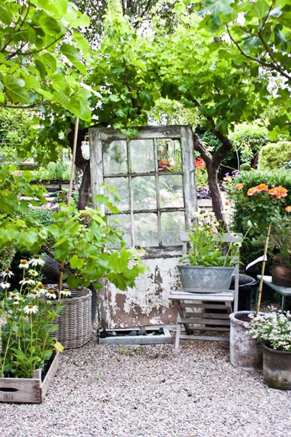Shabby Chic ιδέες κήπου16