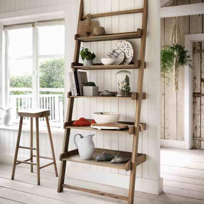 Ιδέες ραφιών με σκάλες3