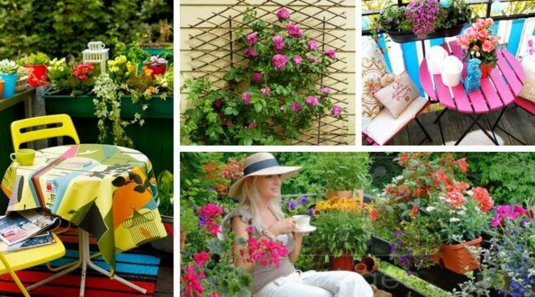 Λουλούδια στο μπαλκόνι
