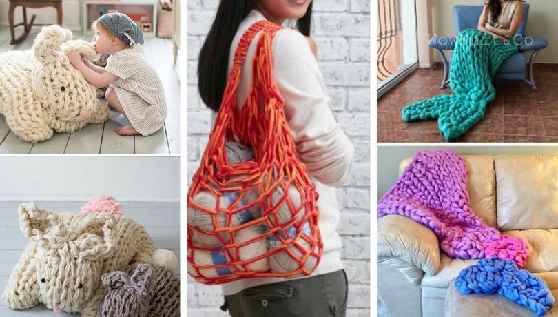 Πλέξιμο με το βραχίονα, υπέροχες ιδέες διακόσμησης και μοτίβα που θα αγαπήσετε