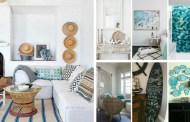 25 ιδέες για να προσθέσετε την αύρα της παραλία στο σπίτι σας