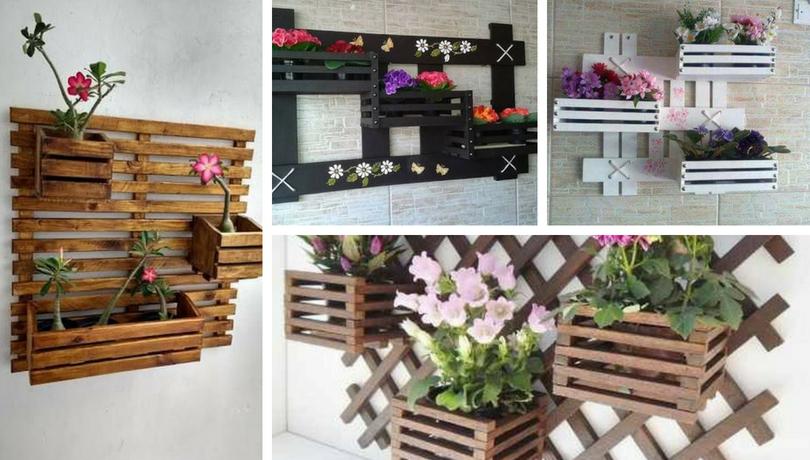 DIY Ξύλινα καφασωτά και γλάστρες που θα αναδείξουν φανταστικά τα φυτά σας