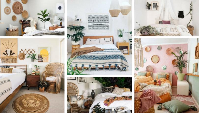 25 Εύκολοι τρόποι για να διακοσμήσετε ένα Boho Chic υπνοδωμάτιο
