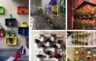 Εξαιρετικοί DIY τρόποι για να κρεμάσετε και να παρουσιάσετε τις γλάστρες σας στον τοίχο