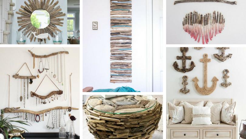 15 Φανταστικοί DIY τρόποι για να ενσωματώσετε θαλασσόξυλα (Driftwood) στη διακόσμηση του σπιτιού σας