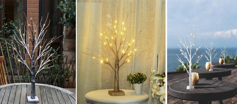 Πως να δώσετε ζωή και ζεστασιά σε οποιοδήποτε βαρετό χώρο με ένα DIY φωτισμένο δέντρο κλαδί