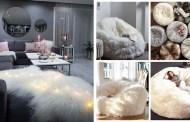 Αξιολάτρευτες ζεστές και χνουδωτές ιδέες διακόσμησης σπιτιού για το χειμώνα
