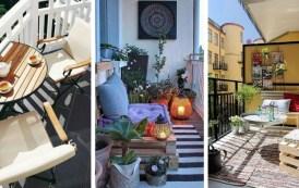 Το μπαλκόνι ως χώρος χαλάρωσης - Εξαιρετικές ιδέες για έναν αποτελεσματικό σχεδιασμό